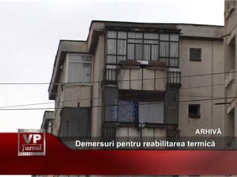 Demersuri pentru reabilitarea termică a blocurilor