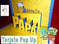 Dia del padre tarjeta Pop up 3D Cerveza - YouTube