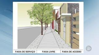 Nova lei das calçadas tem regras rígidas para garantir mobilidade em Bauru