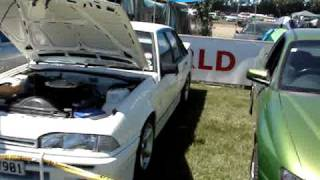 Rangiora New Zealand  City new picture : New Zealand Christchurch (Rangiora) car show video 4