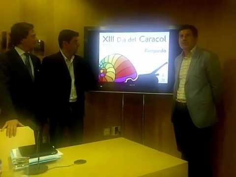 Presentación de la 13º edición del Día del Caracol de Riogordo