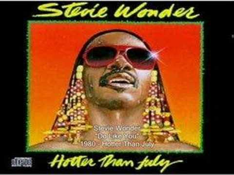 Stevie Wonder - Do Like You