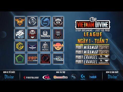 Divine League: Master| Tuần 7| FFQ, REFUND, DIVINE, SGD, H2, Envil Gaming... - Thời lượng: 2:05:56.