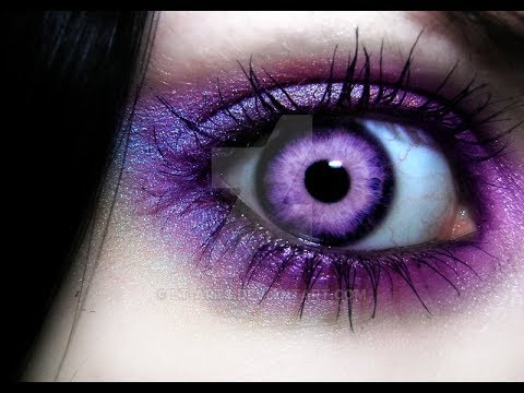 Subliminal: Purple Eye Color In A Week