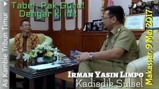 Salah satu program Kadisdik Sulsel Irman Yasin Limpo..