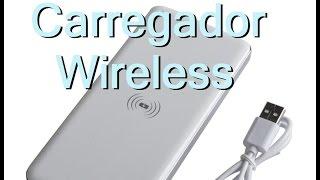 Produto que comprei no site dx.com, demorou cerca de 60 dias pra chegar, funciona em todos os modelos de celulares que usam padrão de carregamento wireless Qi. Além de um carregador ele também é uma bateria extra de 10000mAh.Link do produto:http://www.dx.com/p/mikasso-tx-5600-qi-standard-mobile-wireless-power-charger-1000mah-power-bank-white-233925#.VJoxpsAPADescrição do produto:Brand MikassoModel TX-5600Quantity 1 PieceColor          WhiteMaterial ABS + plating middle framePower Plug USBCompatible Models All the smartphone which is compatible with QI standardInput Voltage 5 VOutput Voltage 5VOutput Current 500~1000 mAOutput Power 5 WFeatures Can charge smartphone by wireless way and cable at the same timePacking List 1 x Wireless charger1 x USB charging cable (60cm)1 x English / Chinese user manualDimensions: 6.02 in x 2.91 in x 0.39 in (15.3 cm x 7.4 cm x 1.0 cm)Weight: 7.05 oz (200 g)
