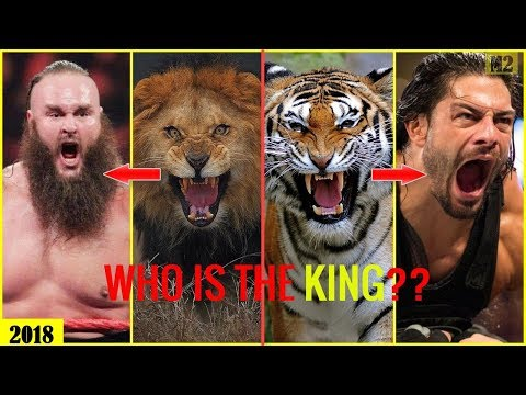 25 Wwe Superstars Vs King Animal 2018 - Who Is The Wwe King? [hd]