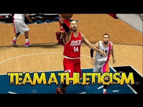 @TwoBrosGaming | NBA 2K13 MyTEAM #TeamAthleticism Gets More Athletic ft. Caron Butler & DJ Augustin