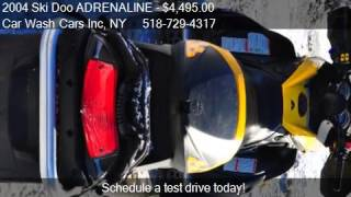 10. 2004 Ski Doo ADRENALINE MXZ SDI for sale in Glenmont, NY 120