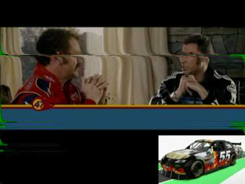 VOTE for our SPONSAFIER VIDEO, also Talladega Nights: Ballad of Ricky Bobby Outtakes ...