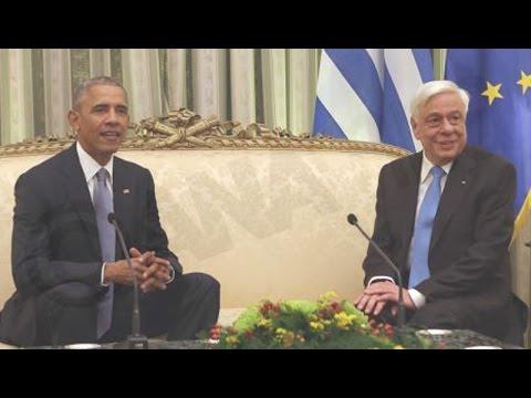 Μπαράκ Ομπάμα: Αναγνωρίζουμε τις προσπάθειες και την πρόοδο της Ελλάδας