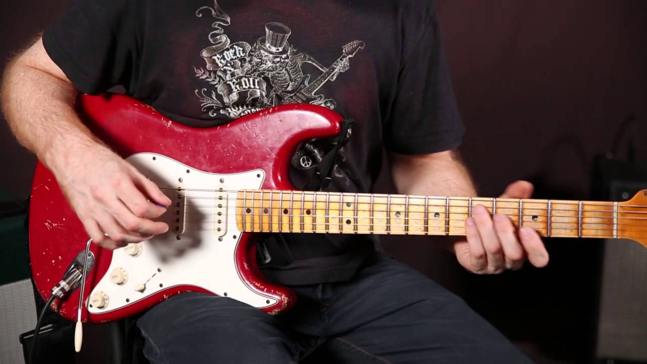Funk Rhythm Guitar Concepts by Oz Noy – funk groove guitar lesson – Strat