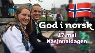 Sponset video av Aschehoug. I samarbeid med deres bok God i norsk. Se mer her: http://undervisning.aschehoug.no/godinorsk/17.mai er norges nasjonaldag, her får du er lite innblikk i min og andres feiring av nasjonaldagen. Takk til Erling for klipp fra russetog: https://www.youtube.com/user/QualityMuffinTakk til Simen for klipp med herrebunad: https://www.youtube.com/user/nerdgatadotcomTakk til alle som bidro med bilder til filmen, og takk til venner som stilte opp foran kamera :) Hey all Norwegian learners!The language I'm teaching is not Bokmål nor Nynorsk. It's an Oslo-dialect and I don't think you will have much problem with bokmål after this. :) And everyone will understand this.I am Norwegian, from Norway. Born and raised. I live in Oslo, with my husband and two sons.--------------------------------------Stalk me anywhere: Facebook:  https://www.facebook.com/NorwegianTeacherInstagram: http://instagram.com/youtube_karinNorwegian Channel: http://www.youtube.com/karinwinnem7Send med packages and fanmail: Norwegian Teacher Karin Nordic ScreensGjerdrums vei 10DNydalen 0484 OSLONorway