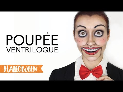 Maquillage d'Halloween : Poupée ventriloque
