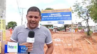 Foi apresentado a estrutura da praça João Martins, em Paripe