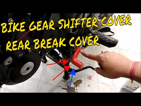 Bike Gear shifter  cover/ collar | AND Rear Break lever cover | hornet 160r