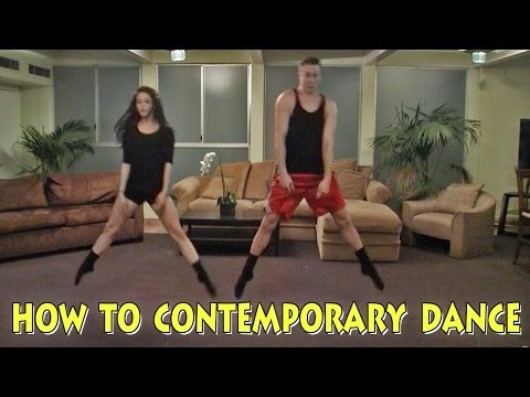 A Lesson In Contemporary Dance Moves - Hilarious