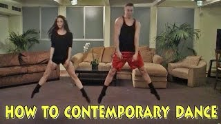 Contemporary Dance How-To HILLARIOUS - YouTube