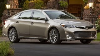 2013 Toyota Avalon Start Up And Review 3.5 L V6 (Night Time Review)
