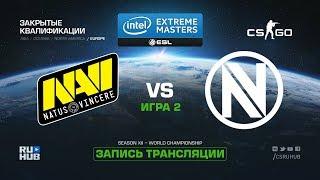 Na`Vi vs Team EnVyUs - IEM Katowice Qual EU - map2 - de_overpass [ceh9, yXo]