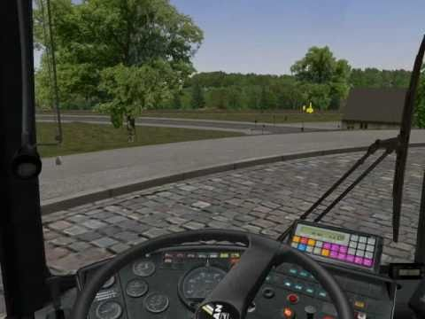 OMSI- The Bus Simulator 2011  Pilzdorf Map-[Line 1: Pilzdorf ZOB-Oberpilzdorf]