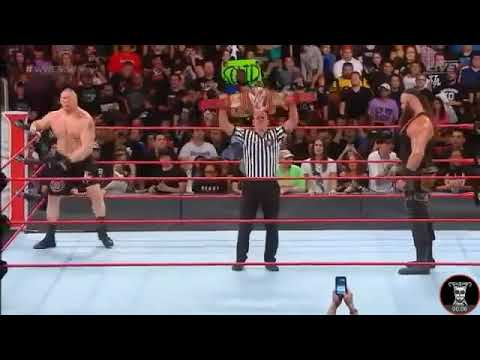Brock Lesner VS Braun Strowman Full Match HD No Mercy 2017 WWE