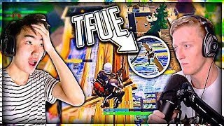 I Got In TFUE'S GAME And This Happened...