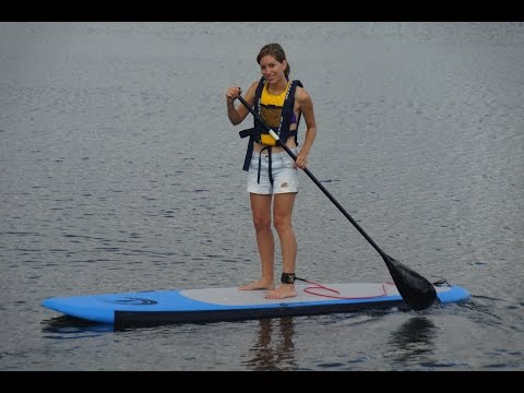 Standup Paddleboarding and Finnish Sauna
