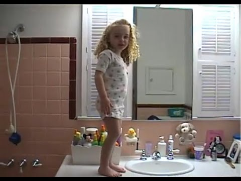 affirmations - Jessica has a day where she's feeling ... really good about her life. (December 2001) ++++FAQ for this video ++++ Q: How old was Jess at the time of the vide...