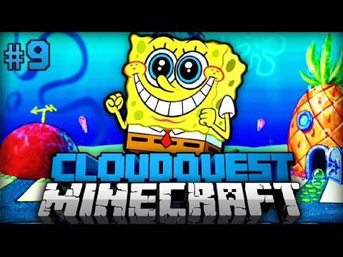 Bei SPONGEBOB zu BESUCH?! - Minecraft Cloudquest #09 [Deutsch/HD]