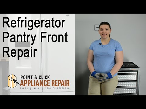 Fridge Repair: Pantry Front Replacement (Part Number W10559660) – Maytag French Door Refrigerator