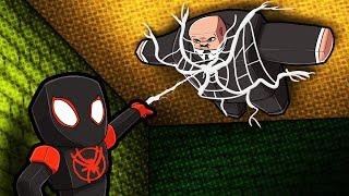 Craft SPIDERMAN to Battle KINGPIN! (Crazy Craft)