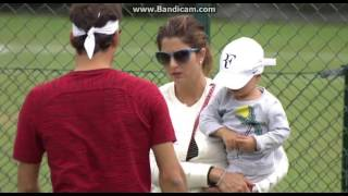 "Roger Federer: ""I like that my kids enjoy the challenging life I have. They like tennis enough to come watch my matches from time ..."