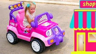 Video Настя и папа играют в магазин игрушек и отель - сборник про сюжетные игры MP3, 3GP, MP4, WEBM, AVI, FLV Mei 2019