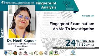 Fingerprint Examination: An Aid to investigation