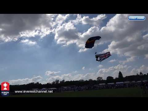 (Gurkha Cup 2018 Parch lll Parachute display - Duration: 6 minutes, 1 second.)