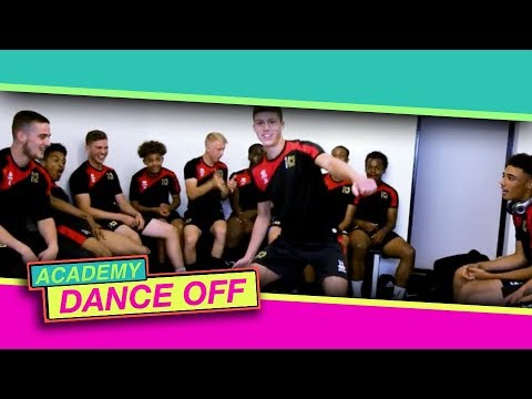 The MK Dons Academy throwing absolute shapes in the Total Tekkers Dance Off