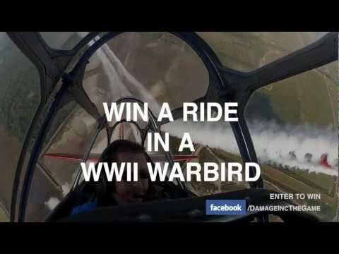 Damage Inc Ride in a WWII Warbird