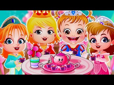 Video of Baby Hazel Tea Party
