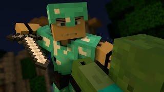 """• """"Warfare"""" - A Minecraft Parody of Pompeii By Bastille (Music Video)"""