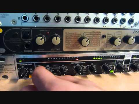 Snare thru a Behringer MDX1400