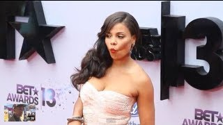 Sanaa Lathan Walks The Red Carpet Of The BET Awards 2013