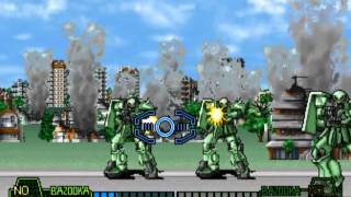 Mobil Suit Gundam Final Shooting J MAME Gameplay Video Snapshot -Rom Name Gdfs-