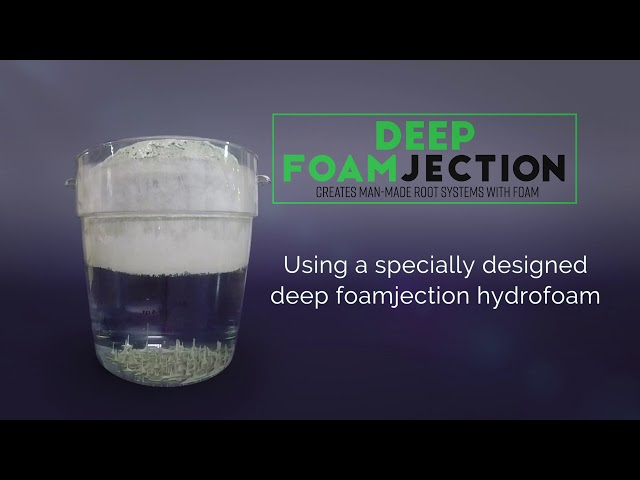 HMI Hydrofoam- Deep Foamjection