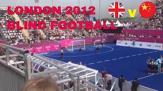 London 2012- Paraolimpiada w piłce nożnej dla NIEWIDOMYCH!