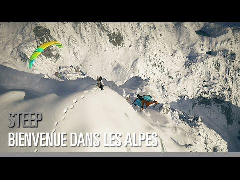 Steep - Bienvenue dans les Alpes