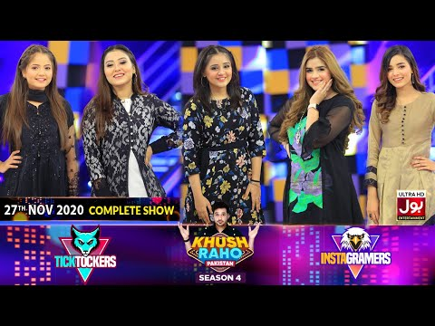 Game Show   Khush Raho Pakistan Season 4   Instagramers Vs Tick Tockers   27th November 2020
