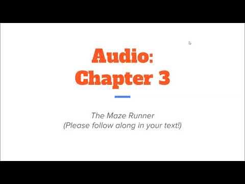 Chapter 3   Maze Runner Audio