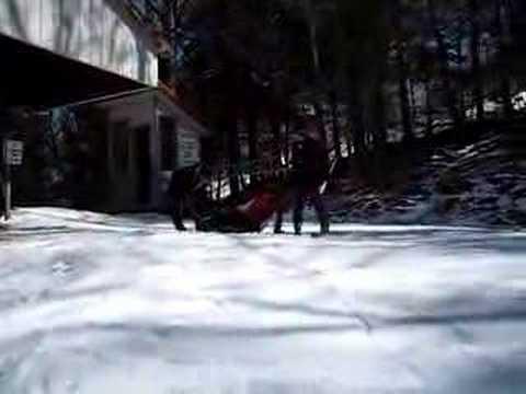 Ski Lift Fall