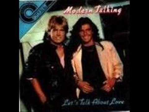 MODERN TALKING - Let's Talk About Love (audio)
